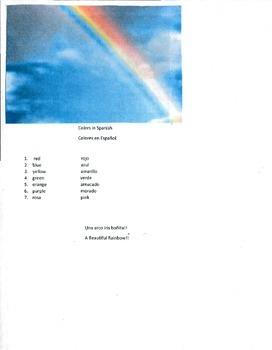Colors (Arco Iris) Rainbow