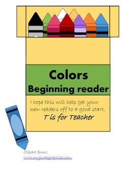 Colors Beginning Reader