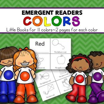 Colors Emergent Readers