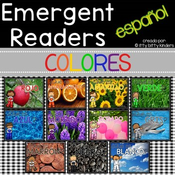 Colors: Emergent Readers in Spanish!