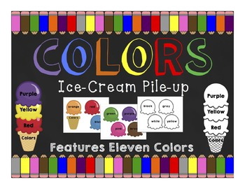 Colors: Ice-Cream Pile Up