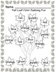 Colors In The Leaves!  ~Fall Center Activity Using Dot Pai