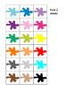 Colors Memory Pairs Game, Autism, Special Education, Turn