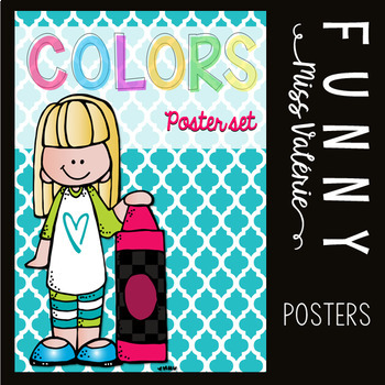 Colors Poster Set