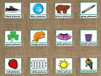 Colors PowerPoint Presentation Fun/Colorful Words/Pictures