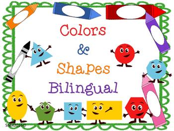 Colors & Shapes Bilingual