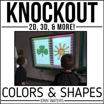 Colors & Shapes KNOCKOUT Bundle {2D, 3D, & Colors}