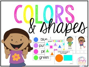 Colors & Shapes Thematic Unit