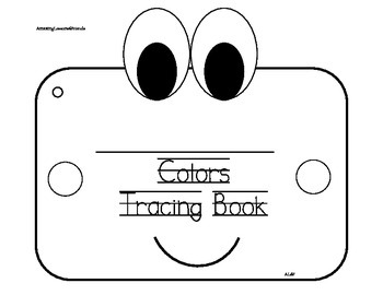 Colors Tracing Book