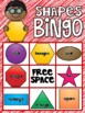 Colors and 2D Shapes Bingo