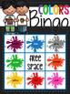 Colors and 2D Shapes Bingo