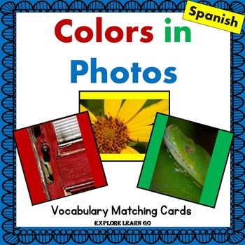 Colors in Photos / Interactive Spanish Vocabulary Lessons