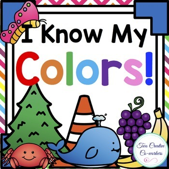 Colors { mini-books, worksheets, posters, & picture sorts }