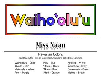 Colors of Hawaii - Mini Posters