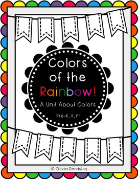 Colors of the Rainbow! Colors unit for Pre-K, Kindergarten