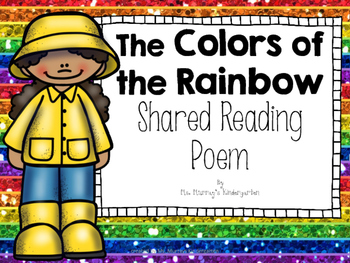 Colors of the Rainbow Shared Reading Poem