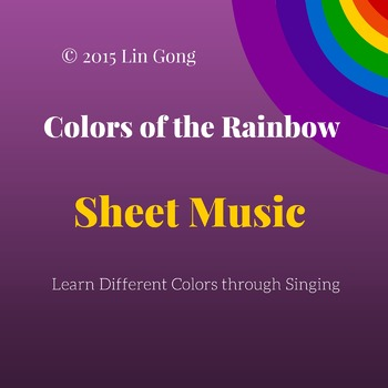 Colors of the Rainbow - Simple Easy English Song for Kids