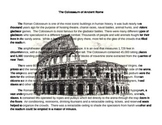 Colosseum Notes