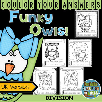 Colour By Numbers Funky Owls Division UK Version