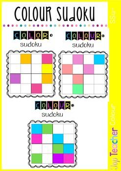 Colour/Color Sudoku