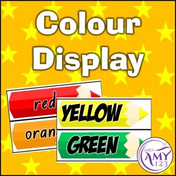 Colour Pencil Display
