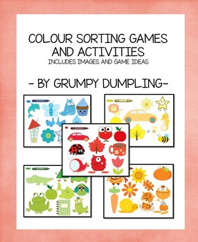 Colour Sorting Games and Images