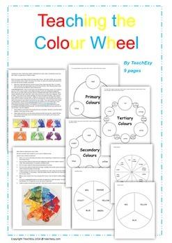 Colour Wheel Teaching Resource