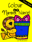 Colour by Number Name! Picture Edition