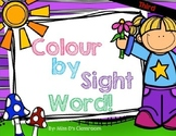 Colour by Sight Word: Third Grade Spring Edition