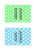 Table Groups - Coloured Polka Dots