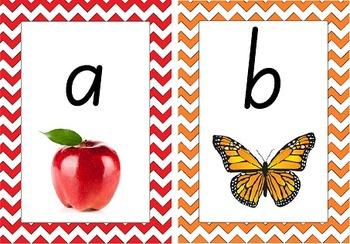 Colourful Australian Alphabet Display (NSW foundation font