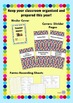 Bright Colourful Teacher Binder Cover and Document Bundle