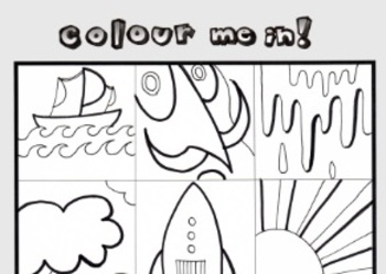 Colouring In Sheet Color In!
