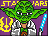 Colouring  Yoda by Proportions & Unit Rates (18 and 28 She