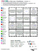 Colouring by Circle Area & Perimeter, Pi (25 Worksheet Mosaic)