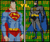 Colouring by Linear Systems, Batman vs Superman (Two 12 Sh