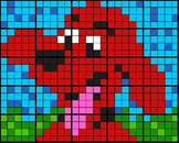 """Colouring by Percentage - Part, Whole, Percent - """"Red Dog"""""""