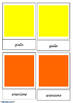 Colours - Italian 3 part cards