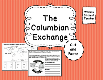 Columbian Exchange: Cut and Paste