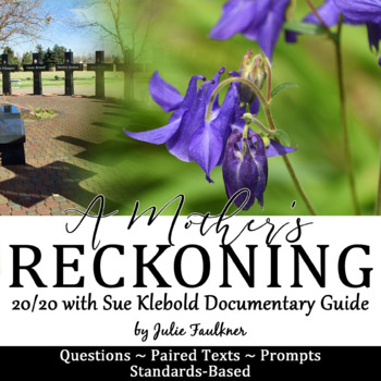 Columbine 20/20 Interview Documentary with Sue Klebold Vie