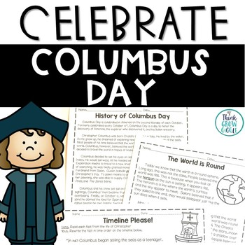 Columbus Day Activities Non-Fiction