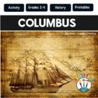 Columbus Day Activities with Flip Book