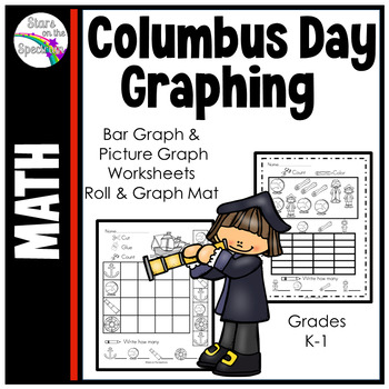Columbus Day Graphing Worksheets * Christopher Columbus Ba
