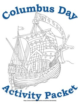 Columbus Day Activity Packet! Learning Activity Packet! Oc