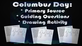 Columbus Day Activity: fun, engaging primary source, guidi