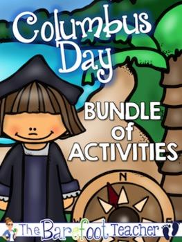 Columbus Day Math & Language Arts Bundle of Activities