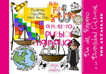 "Columbus Day ""Full Activities Project"" -Part1- ESPAÑOL"