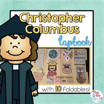 Columbus Day Lapbook { 10 with foldables!} Research Lapbook
