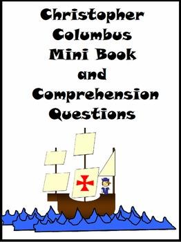 Columbus Day-Christopher Columbus Mini Book and Comprehens