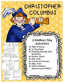 Columbus Day Packet